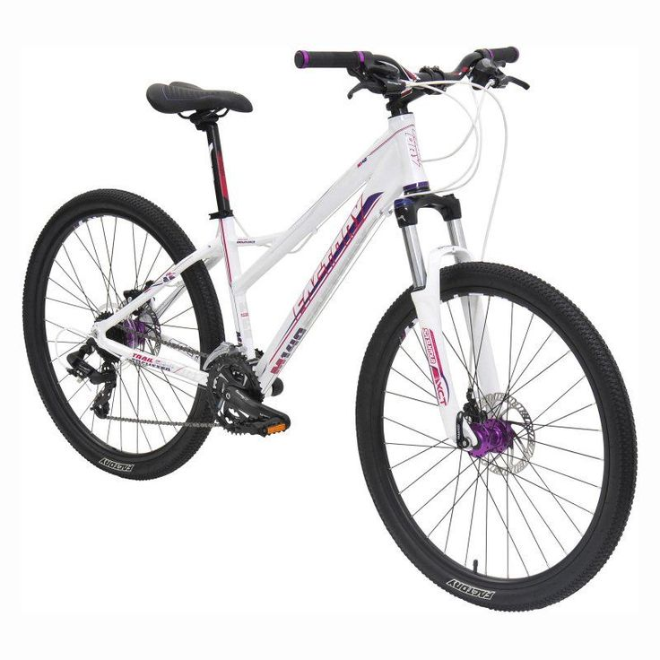 Factory M140 MTB 24 Speed Bike - White/Purple - 830