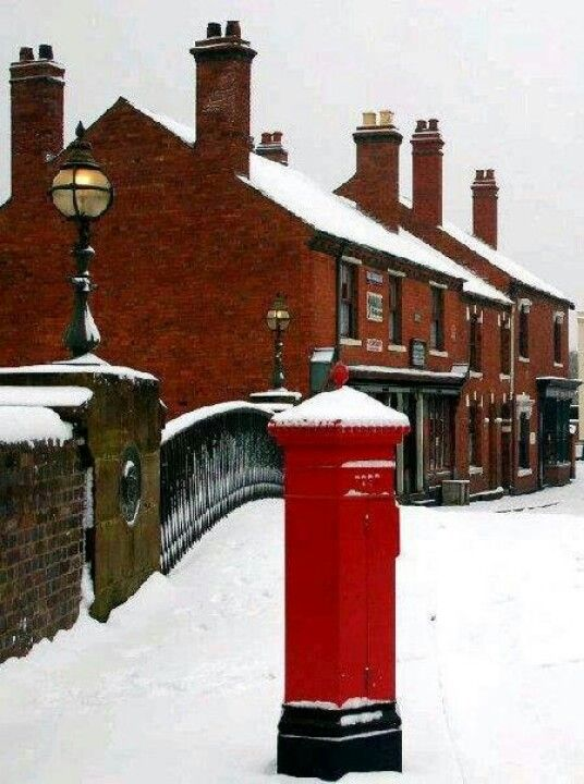 Snow (Black Country Museum ) -.Thanks for sharing this It looks like a Midsomer village. Darling!