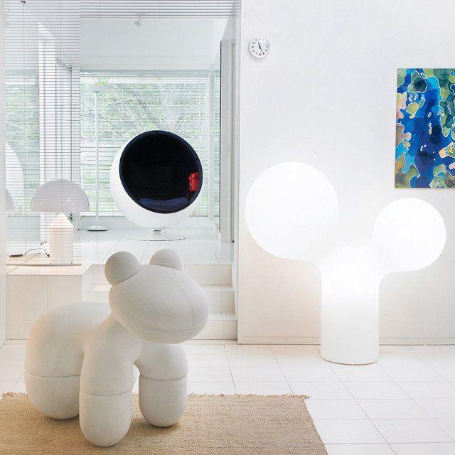 Double Bubble Large Floor Lamp