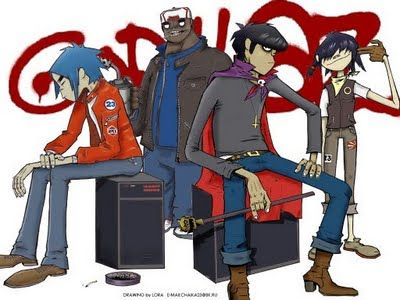 """When Talking About ?: The Real Face of personnel """"Gorillaz"""""""