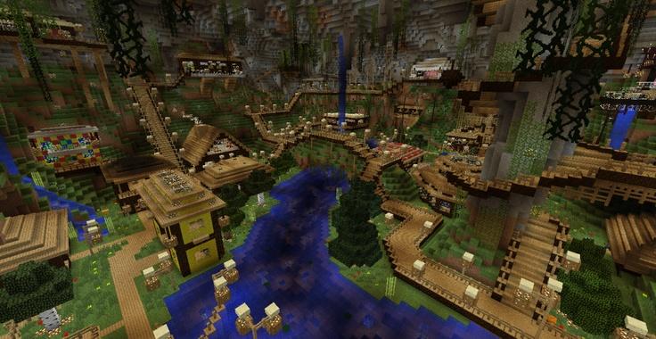 Marvelous Minecraft House Goes Underground   Hľadať Googlom