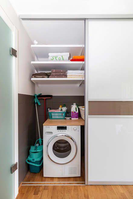 Die besten 25+ Einbauschrank für waschmaschine Ideen auf Pinterest - waschmaschine in der k che verstecken