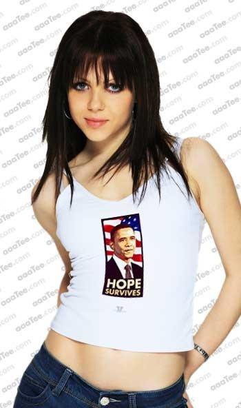 Obama Hope t shirt | Barack Obama 2012 Throwback Political T Shirt. Hope is alive, even in 2012!