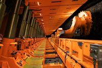 Weld overlay cladding specialist Arc Energy Resources has completed a critical cladding operation for mining equipment manufacturer Joy Global that is destined to protect coal mining installations underground rather than in Arc Energy's usual environment – oil & gas operations undersea.