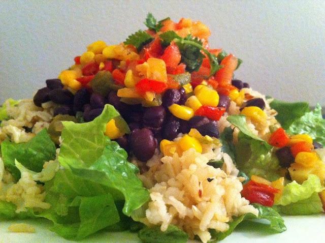 Southwest Burrito Salad
