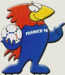 Francia 1998: Footix (Un gallo)