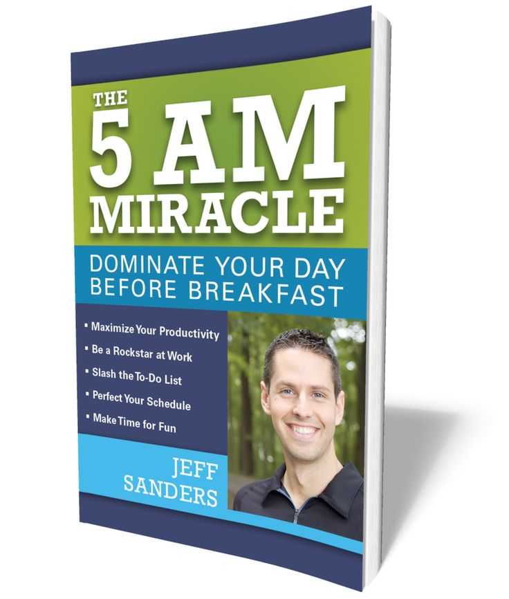 The 5 AM Miracle (paperback) by Jeff Sanders