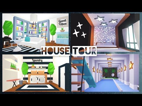 Celebrity Mansion House Tour Adopt Me Roblox Youtube Celebrity Mansions Cute Room Ideas Mansions Homes