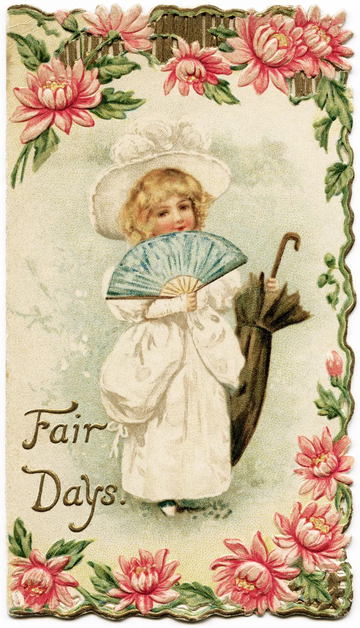 Old Design Shop ~ free printable  Fair Days Victorian Christmas card