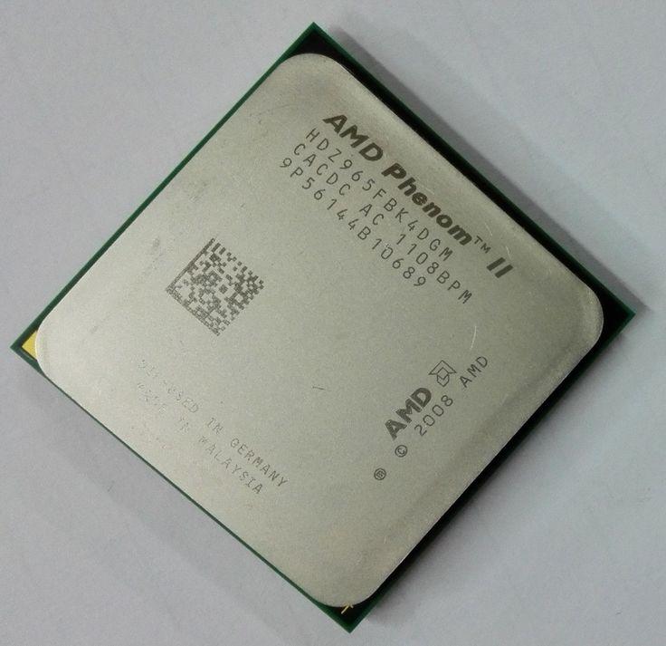 Free shipping For AMD Phenom II X4 965 Processor(3.4GHz/6MB L3 Cache/Socket AM3)Quad-Core