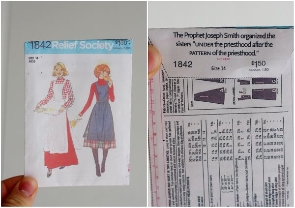Cute Relief Society handout