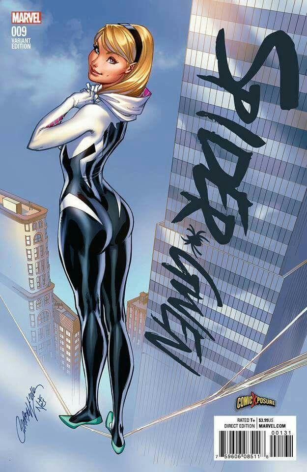 Spider Gwen by J. Scott Campbell