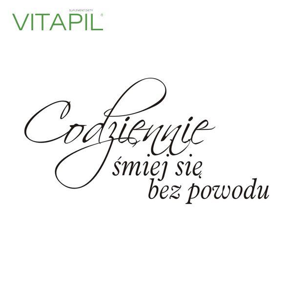 #vitapil #smile #śmiech #energia #radość #motywacja #bezpowodu
