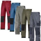 Snickers Duratwill Work Trousers with Kneepad Pockets . (4 Col/L-XL leg)-3312D