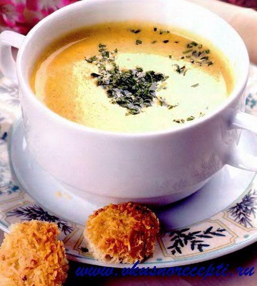 Яичный суп с сыром. Вкусные рецепты.