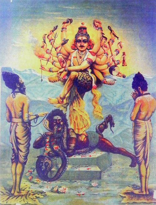 "Raja Ravi Varma: ""Nataraja - The Cosmic Dancer"""