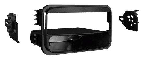 Metra - Dash Kit for Select 1997-2001 Hyundai Tiburon w/ double-din opening - Black