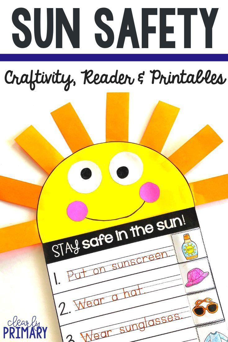 Sun Safety Sun Safety Activities Summer Safety Activities Kindergarten Activities [ 1102 x 735 Pixel ]