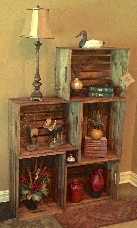 Best 25 large wooden crates ideas only on pinterest for Apple crate furniture