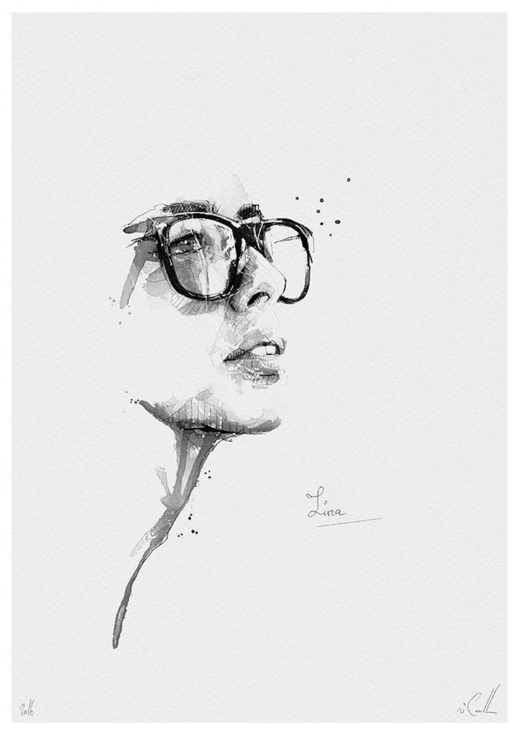 Spontaneous and Realistic Black and White Pencil Portraits – Fubiz Media