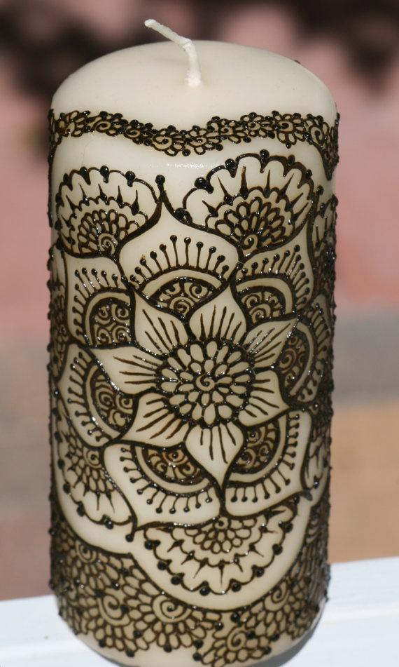Mehndi For Candles : Best dotwork mandala tattoos images on pinterest
