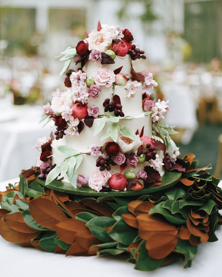 Choose a wedding cake flavor that's inspired by the season—we promise your…