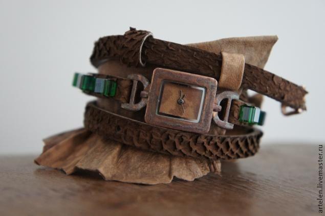 Ремешок для часов своими руками - Ярмарка Мастеров - ручная работа, handmade