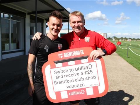 Brentford FC reveal Utilita as Official Energy Partner