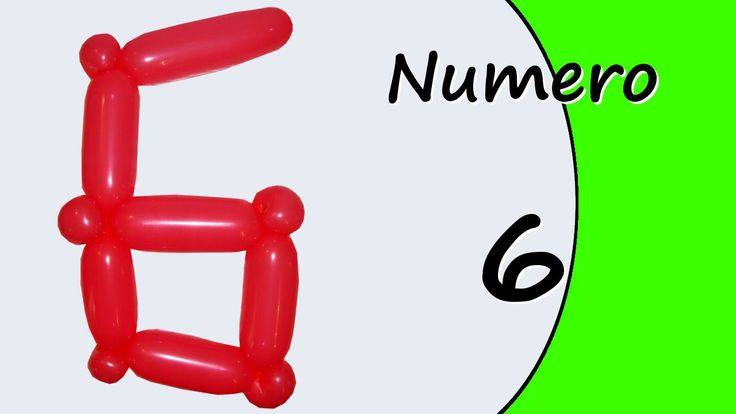 Video tutorial on how to make the Number six with balloon twisting. Learn the numbers with balloons modeled #numbers #number6 #numbersix