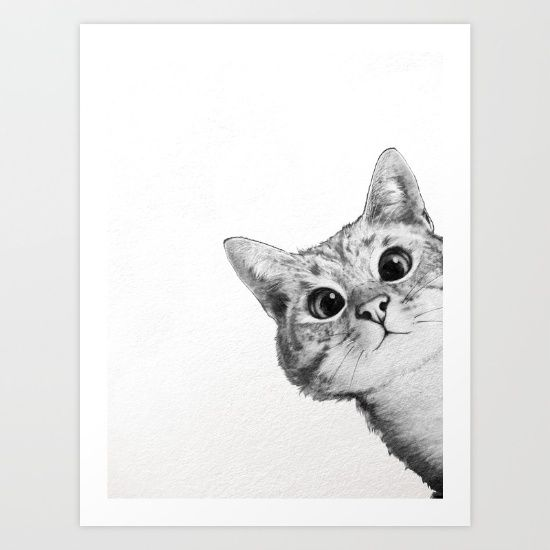 Best 25+ Cat art print ideas on Pinterest | Black cat ...