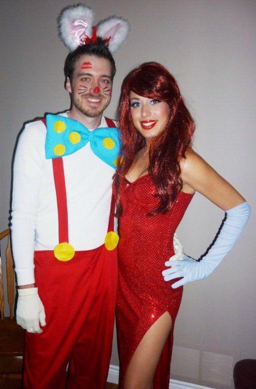 Jessica Rabbit And Roger Rabbit Costumes