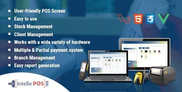 Intelle Pos V3 0 0 Pos With Inventory System Pos System Cash Management