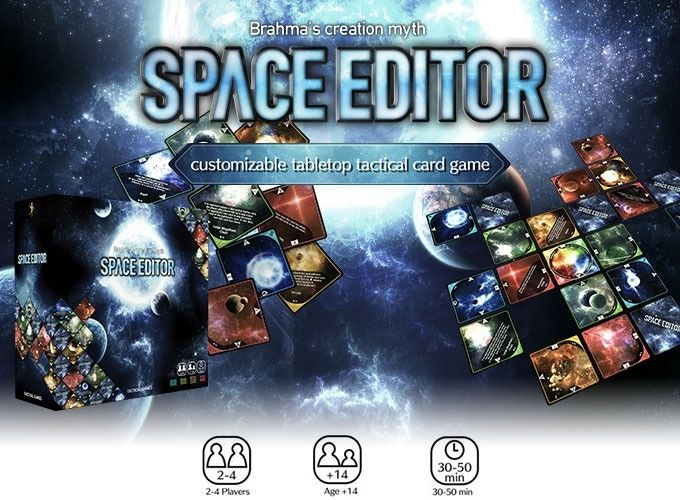 Space Editor is a battle card game whose theme is the creation of the universe. Create the universe and own it with strong control!