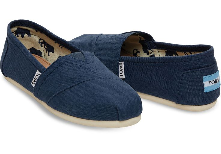 The foundation to the One for One movement: TOMS Original Classics. When Blake saw the traditional alpargata in Argentina, he recognized a solution to the shoeless children enduring hardship around him, and started TOMS.