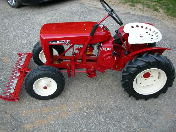 Custom Garden Tractor Wheels : Best images about wheel horse tractors on pinterest