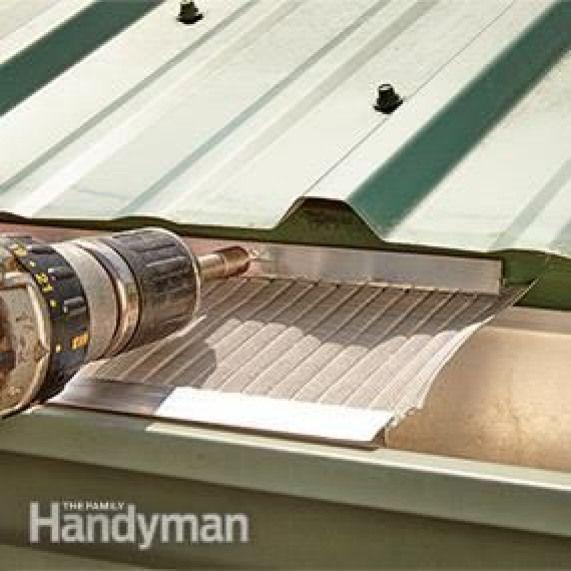 Die Besten Laubschutzrinnen Fur Ihr Zuhause Haus Mit Garage Dachbau Dach Ideen