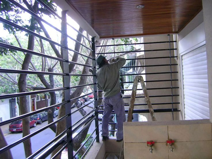 Las 25 mejores ideas sobre rejas para balcones en - Seguridad de casas ...