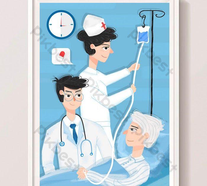 21 Gambar Kartun Lansia Perawat Dokter Kartun Melihat Lansia Rumah Sakit Pemeriksaan Download Pekerja Perawatan Festival Chong Di 2020 Kartun Gambar Geometri Suci