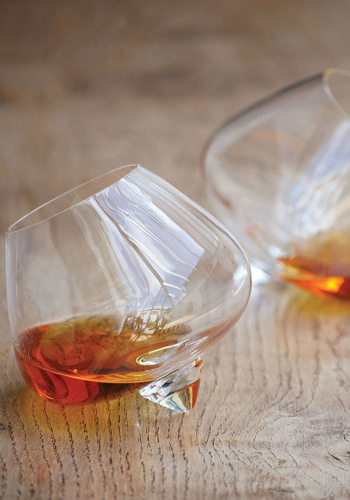 Best gift for him! Normann Copenhagen Cognac glasses (set of 2) — Bodie and Fou - Award-winning inspiring concept store
