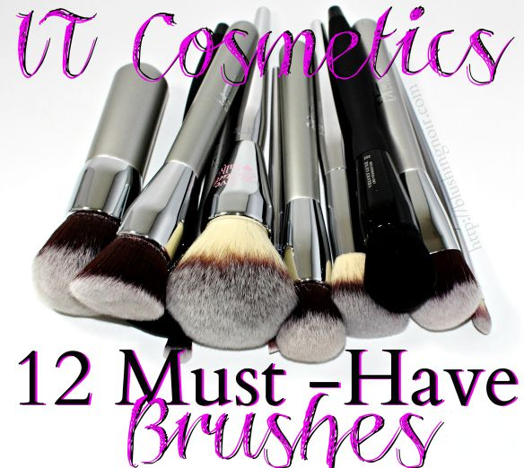 12 Must-Have Makeup Brushes from IT Cosmetics