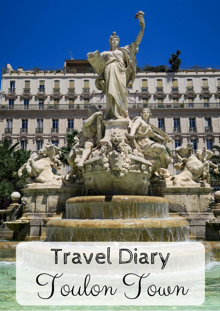 Check out my blog post all about Toulon Town and it's Historical Buildings, including information and photographs. Toulon Town is in the south of France..