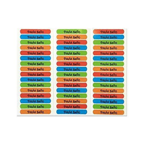 Oferta: 10.95€ Dto: -18%. Comprar Ofertas de 50 Etiquetas adhesivas para marcar objetos 6 x 1cm PALETA 1 barato. ¡Mira las ofertas!