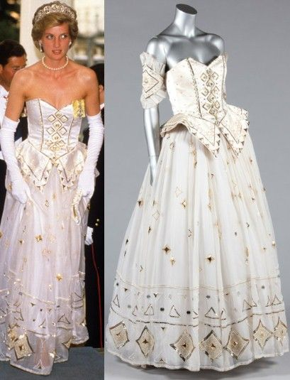 Princess Diana Emanuel dress to be sold by Kerry Taylor Auctions