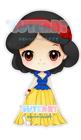 Fashionable Snow White by crowndolls on deviantART