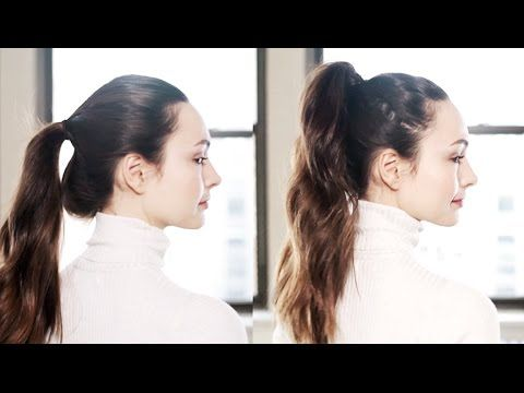 Click play to learn how to take a thin, limp ponytail, and turn it into the full, voluminous ponytail you never thought possible. Step-by-step instructions +...