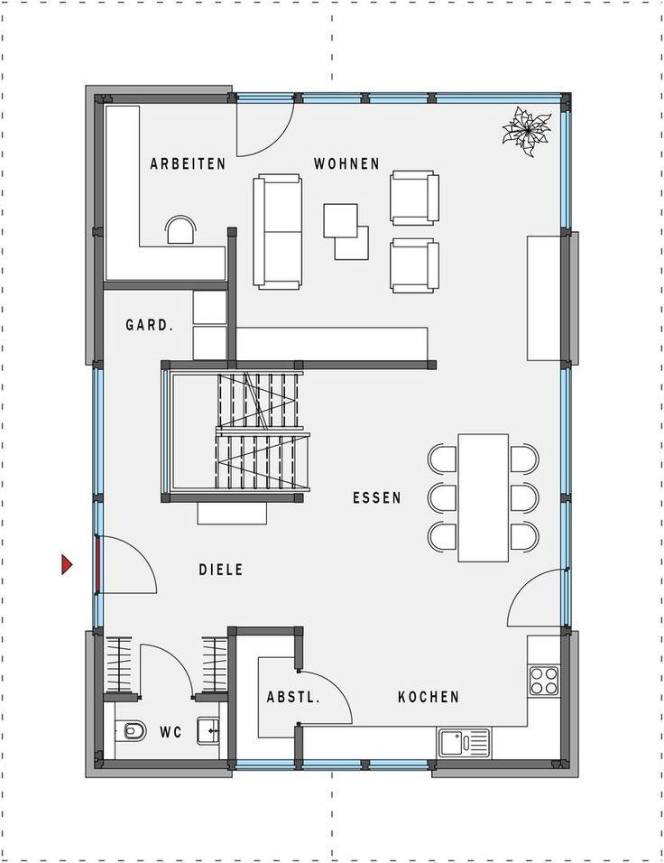 10 besten grundriss bilder auf pinterest. Black Bedroom Furniture Sets. Home Design Ideas