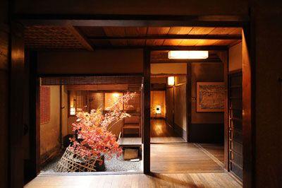 Tawaraya hotel in kyoto, Japan 京都、俵屋旅館 坪庭