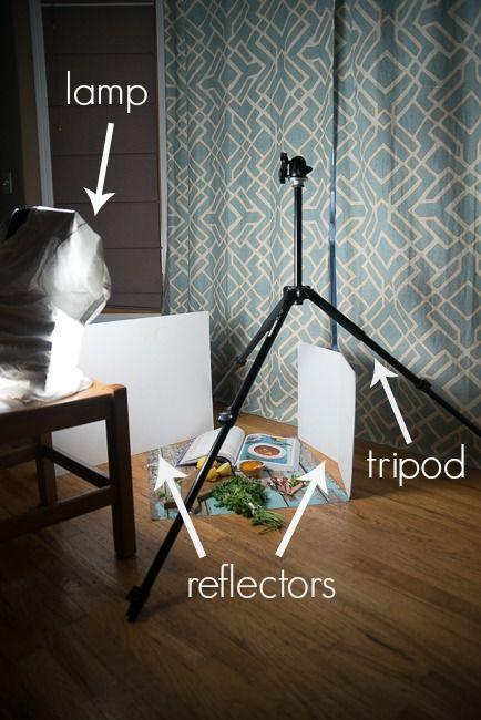 Food Photography. Night Shooting.