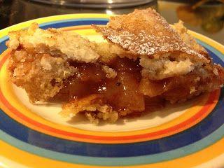 Amor a gosto: Torta de Maçã sem gluten, sem leite e sem ovos