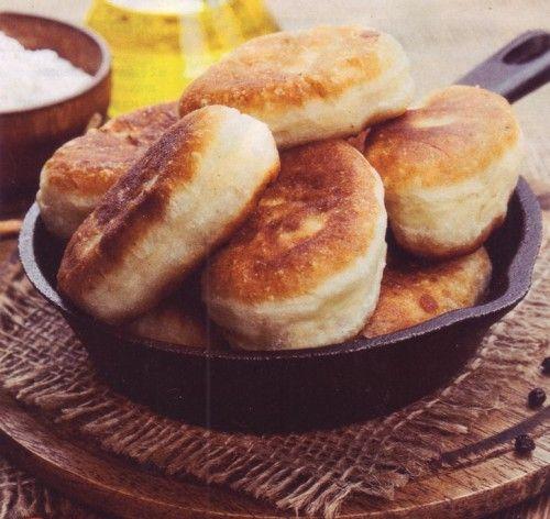 Пирожки на кефире с капустой